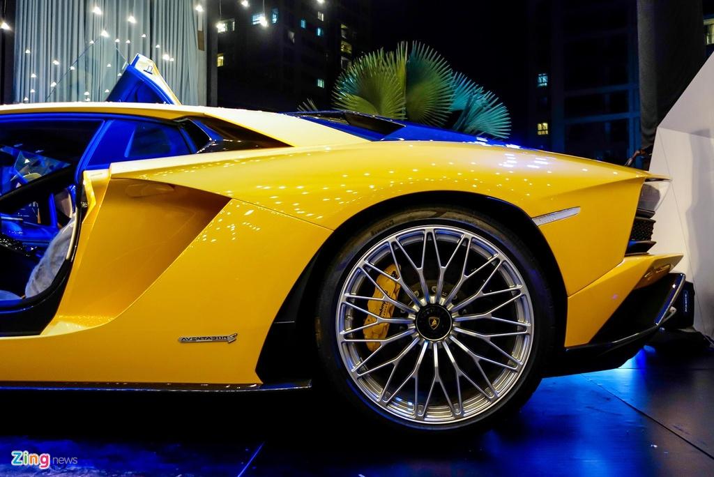 Lamborghini Aventador S - sieu xe dat gia nhat Car Passion 2019 hinh anh 4