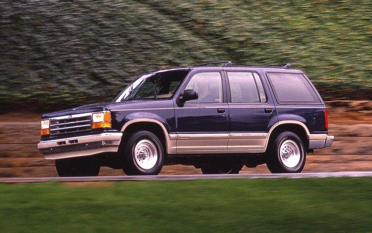 Ford Explorer da thay doi nhu the nao sau 28 nam ton tai? hinh anh 2