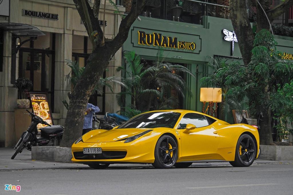 Sieu xe Ferrari 458 Italia tai xuat anh 5
