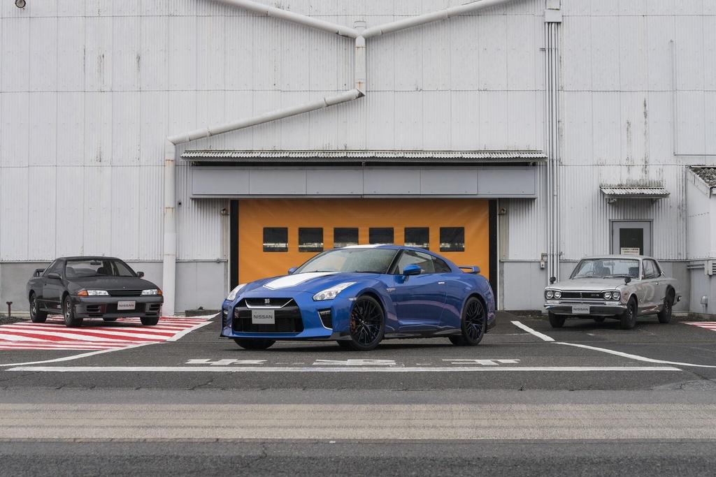 Nissan GT-R ban ky niem 50 nam, dat hon ban toi tieu chuan 20.000 USD hinh anh 1