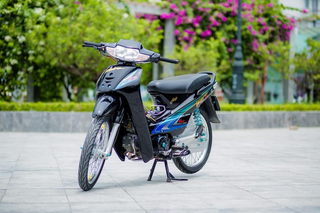 Honda Wave 110 voi goi do gan 200 trieu cua biker Ha Noi hinh anh 1