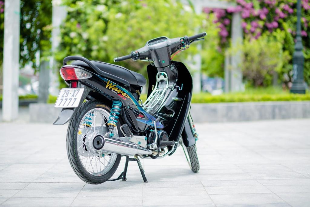 Honda Wave 110 voi goi do gan 200 trieu cua biker Ha Noi hinh anh 2