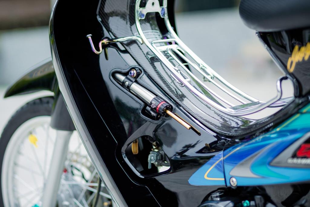 Honda Wave 110 voi goi do gan 200 trieu cua biker Ha Noi hinh anh 7