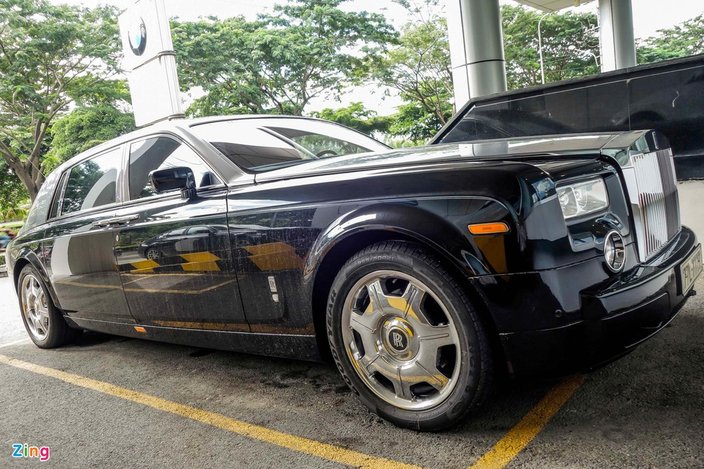 Rolls-Royce cua Le Thanh Than anh 1