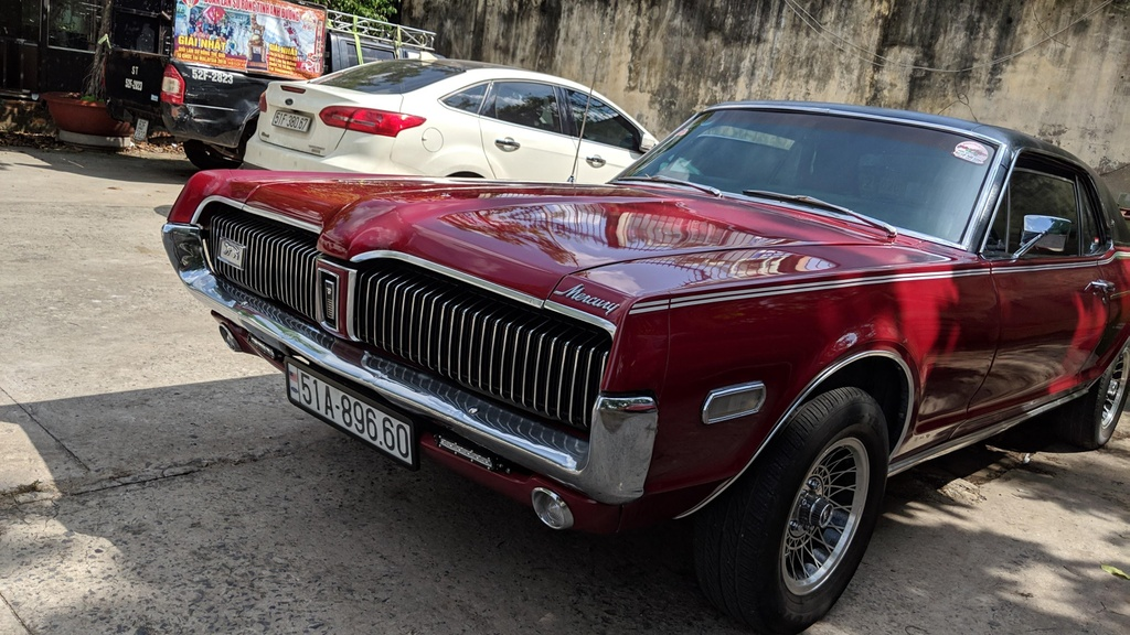Rapper Viet tau xe co 'tien ty' Mercury Cougar 1968 hinh anh 7