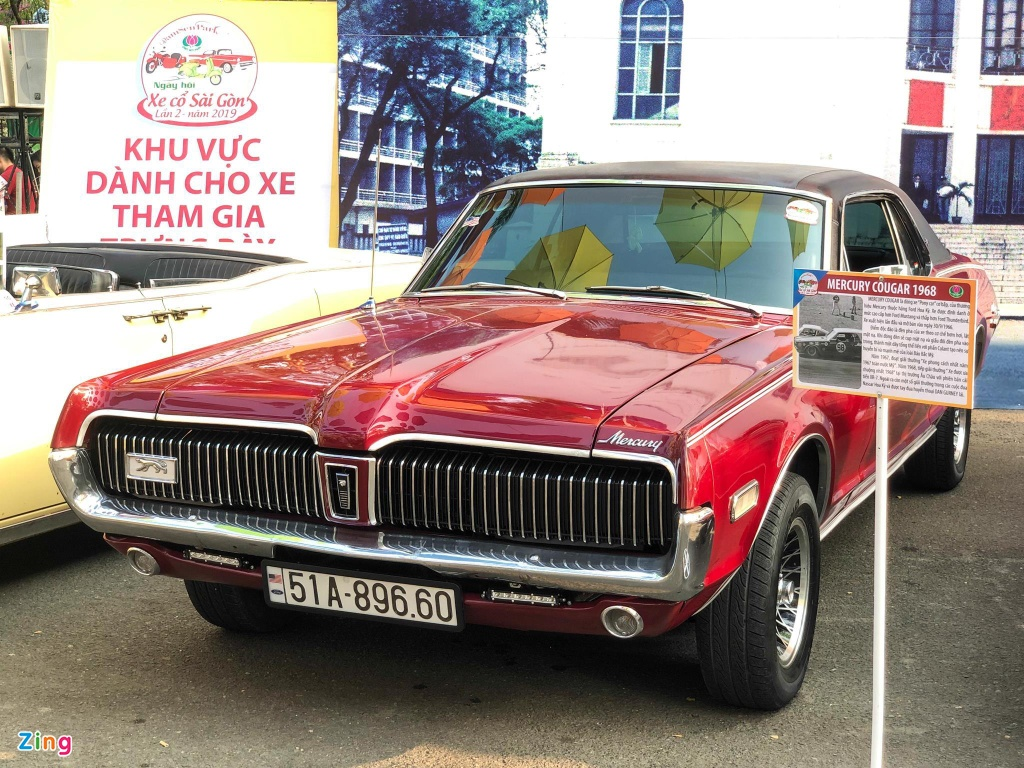 Rapper Viet tau xe co 'tien ty' Mercury Cougar 1968 hinh anh 9