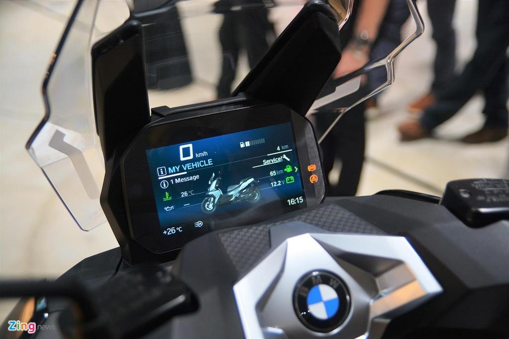 BMW C 400 X lieu co vuot qua Honda SH 300i anh 13
