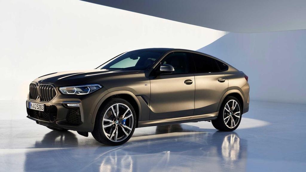 Danh gia so bo BMW X6 2020 anh 1
