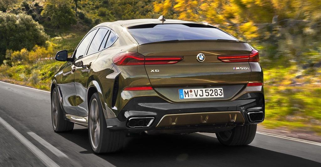 Danh gia so bo BMW X6 2020 anh 8