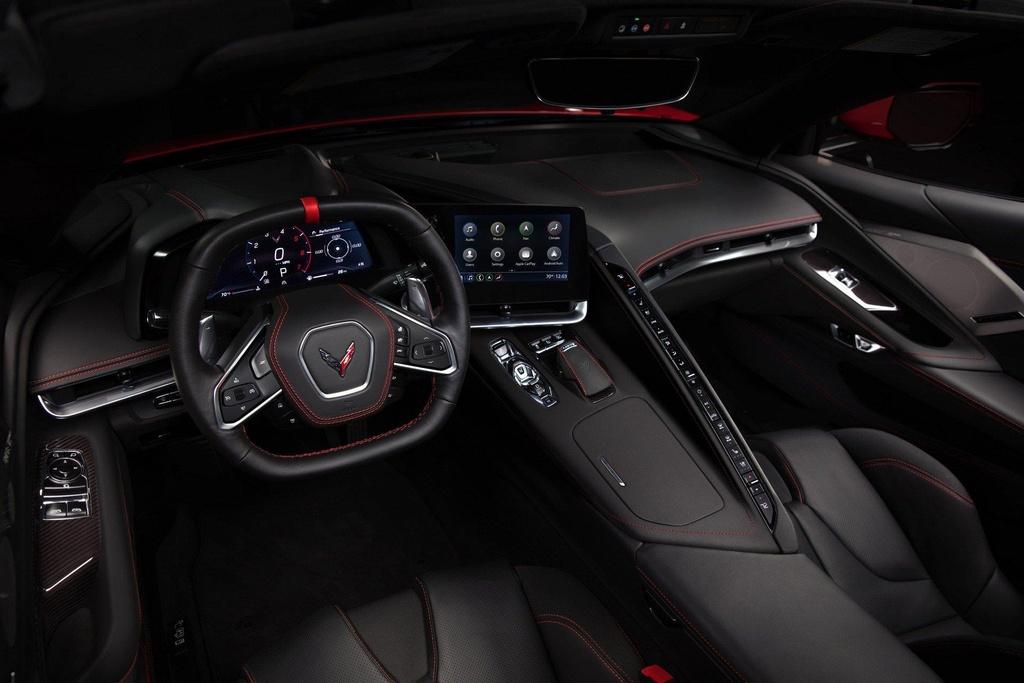 Danh gia Chevrolet Corvette Stingray C8 2020 anh 4