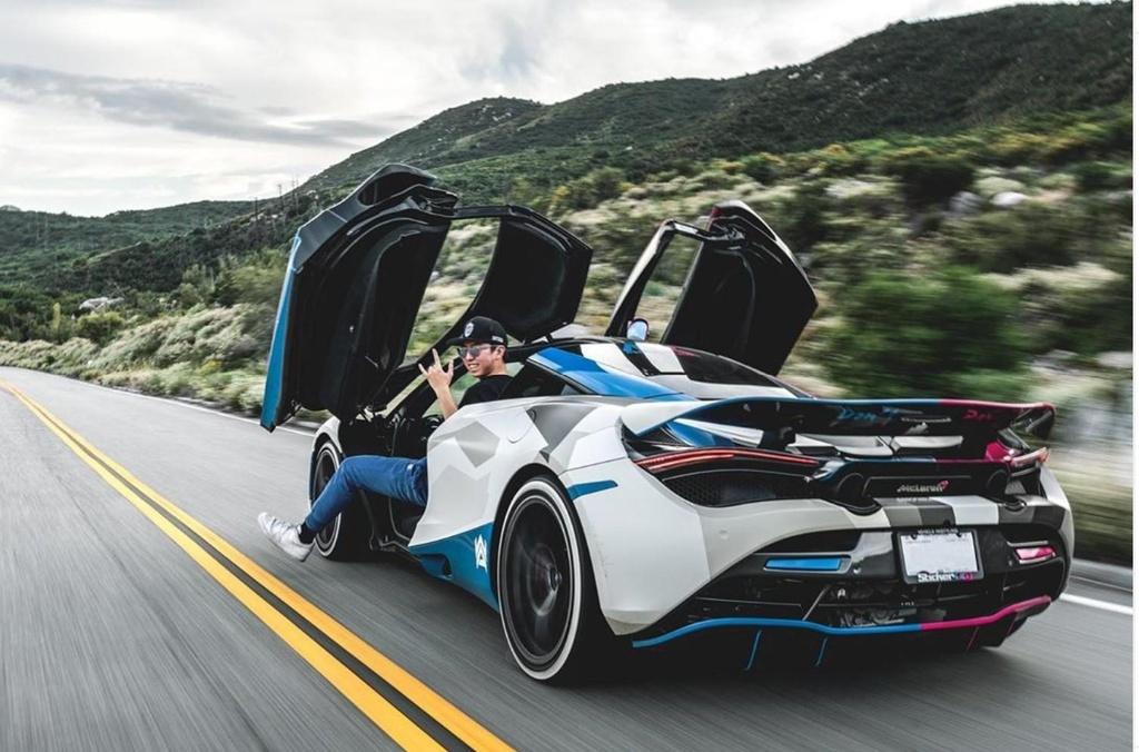 Tay choi 19 tuoi va chiec Lamborghini Huracan 'di' nhat the gioi hinh anh 15