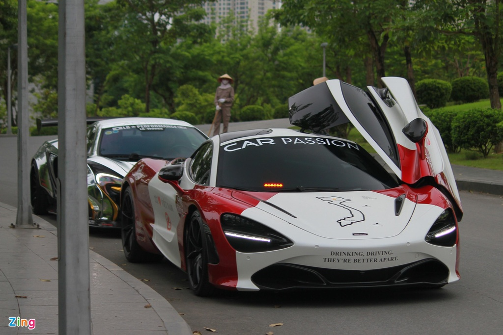 Truong doan Car Passion lai McLaren 720S toi dam cuoi Cuong Do La hinh anh 4