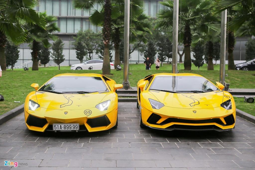 Lamborghini Aventador dau tien VN tai xuat o dam cuoi Cuong Do La hinh anh 4