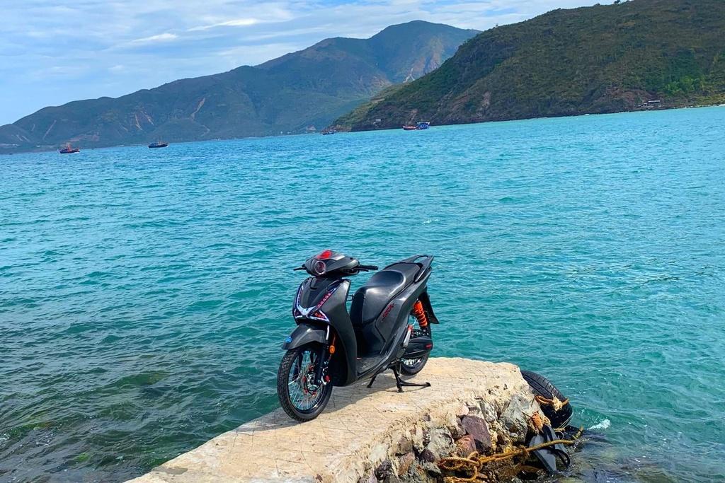 Honda SH 150i voi goi do 300 trieu cua sinh vien Nha Trang hinh anh 1