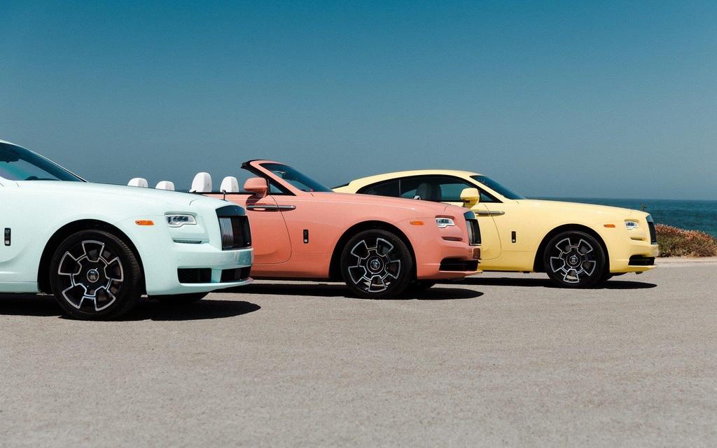 Rolls-Royce ra mat bo suu tap xe sieu sang 'dieu da' Pastel Collection hinh anh 3
