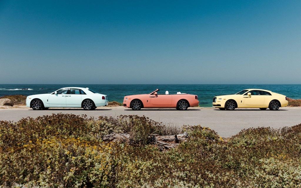 Rolls-Royce ra mat bo suu tap xe sieu sang 'dieu da' Pastel Collection hinh anh 2