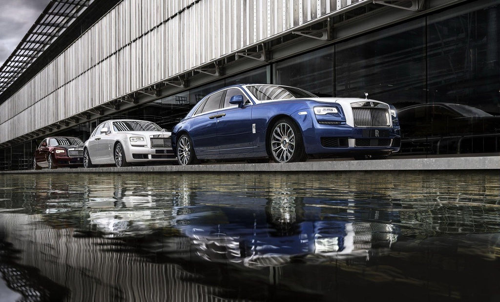 Bo suu tap Rolls-Royce Ghost Zenith Collection anh 1