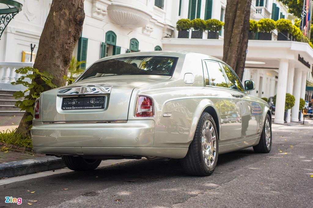 Chiem nguong Rolls-Royce Phantom Hadar doc nhat the gioi tai HN hinh anh 3