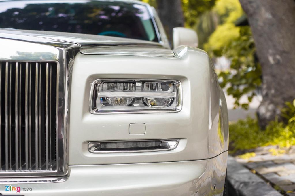 Chiem nguong Rolls-Royce Phantom Hadar doc nhat the gioi tai HN hinh anh 9