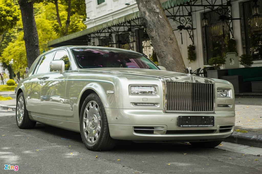 Chiem nguong Rolls-Royce Phantom Hadar doc nhat the gioi tai HN hinh anh 1