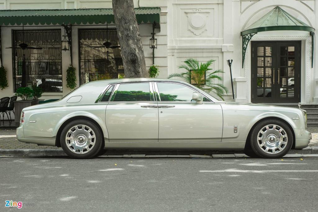 Chiem nguong Rolls-Royce Phantom Hadar doc nhat the gioi tai HN hinh anh 2