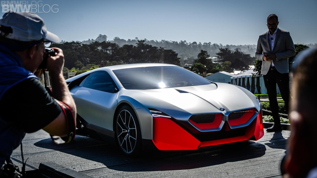 BMW Vision M Next ra mat anh 1