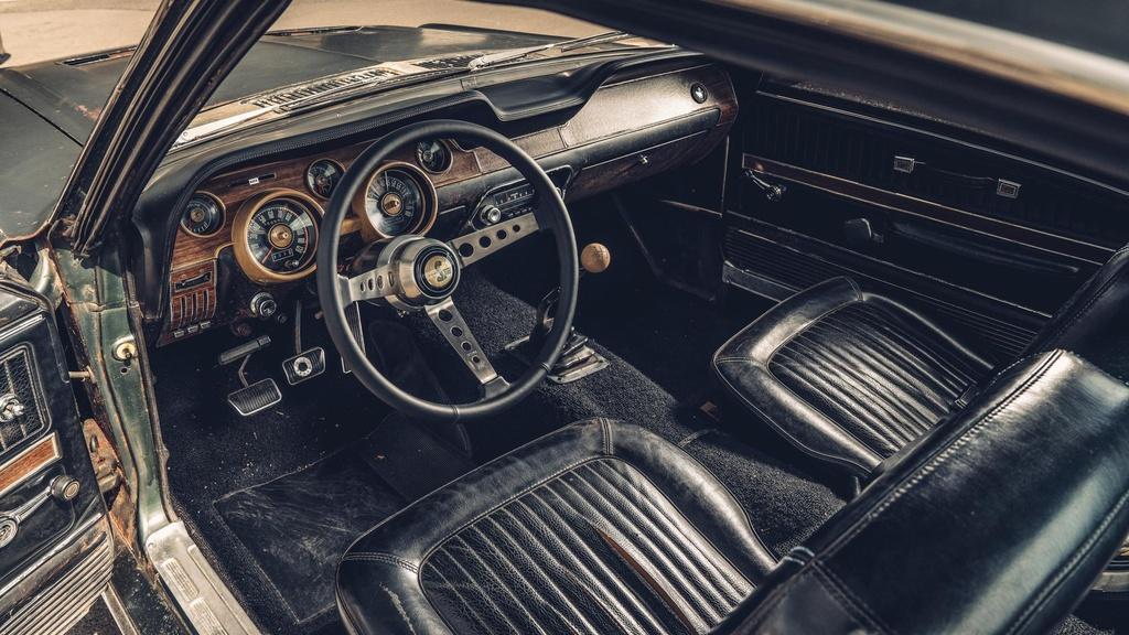 Ford Mustang GT doi 1968 ban dau gia anh 7