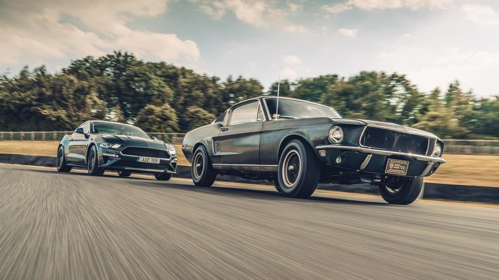 Ford Mustang GT doi 1968 ban dau gia anh 9