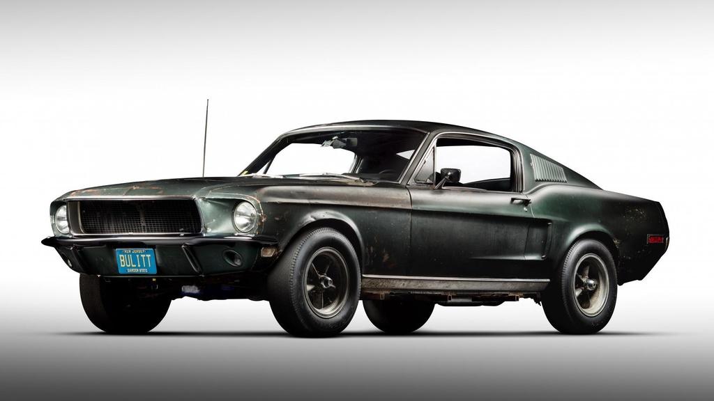 Ford Mustang GT doi 1968 ban dau gia anh 1
