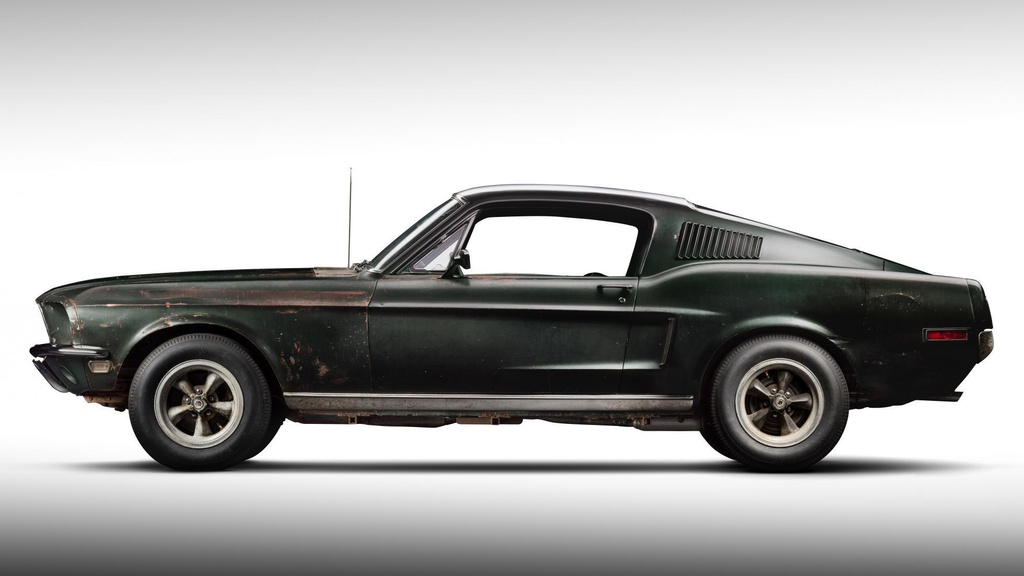 Ford Mustang GT doi 1968 ban dau gia anh 2