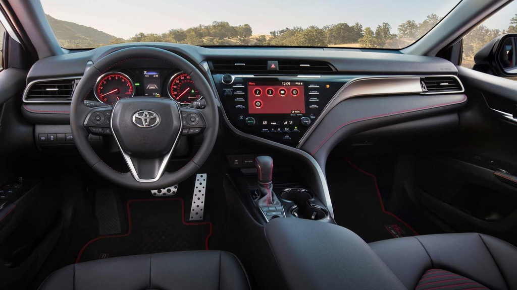 Toyota Camry TRD ra mat, ngoai hinh va khung gam the thao hon hinh anh 6