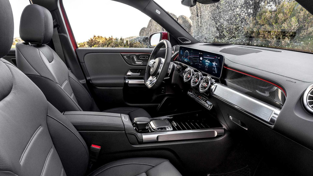 SUV 7 cho Mercedes-AMG GLB 35 ra mat, tang suc manh va off-road hinh anh 10