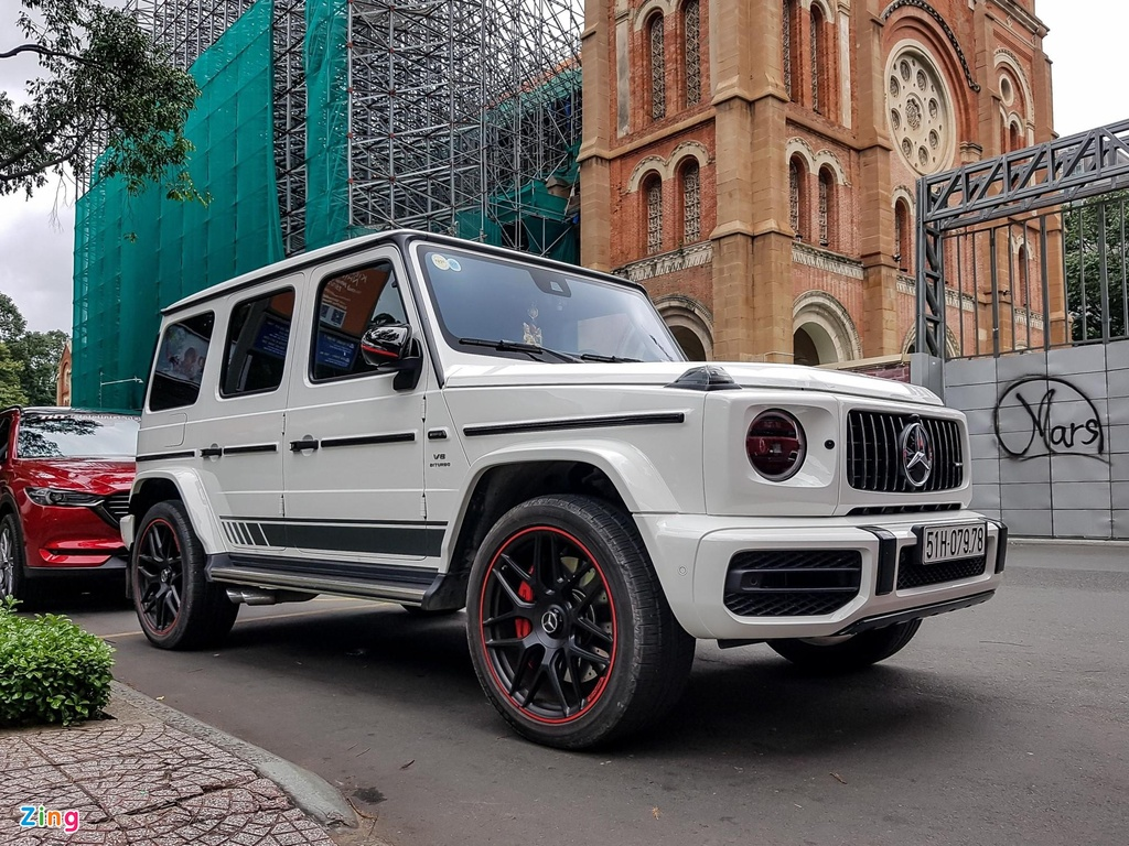 Can canh Mercedes-AMG G 63 Edition 1 anh 1