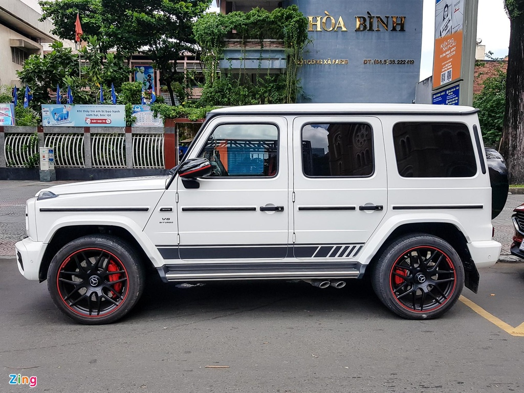 Can canh Mercedes-AMG G 63 Edition 1 cua Minh Nhua hinh anh 2