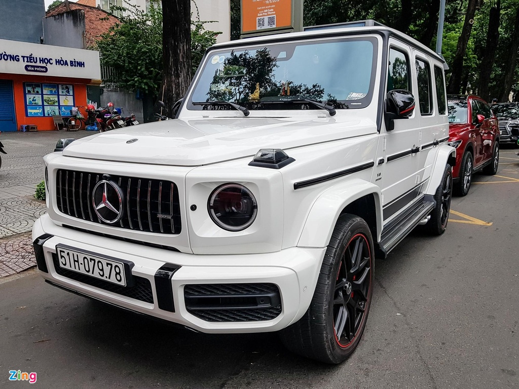 Can canh Mercedes-AMG G 63 Edition 1 cua Minh Nhua hinh anh 9