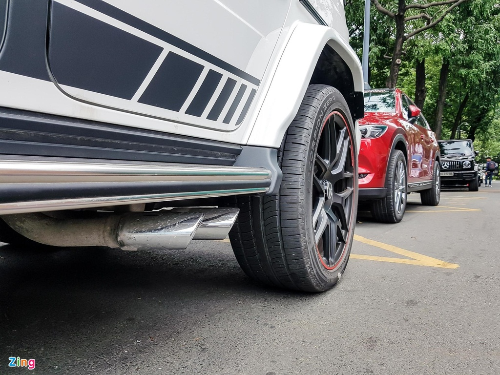 Can canh Mercedes-AMG G 63 Edition 1 cua Minh Nhua hinh anh 6