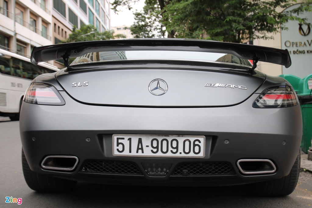 Mercedes-Benz SLS AMG GT Final Editon tai xuat anh 4