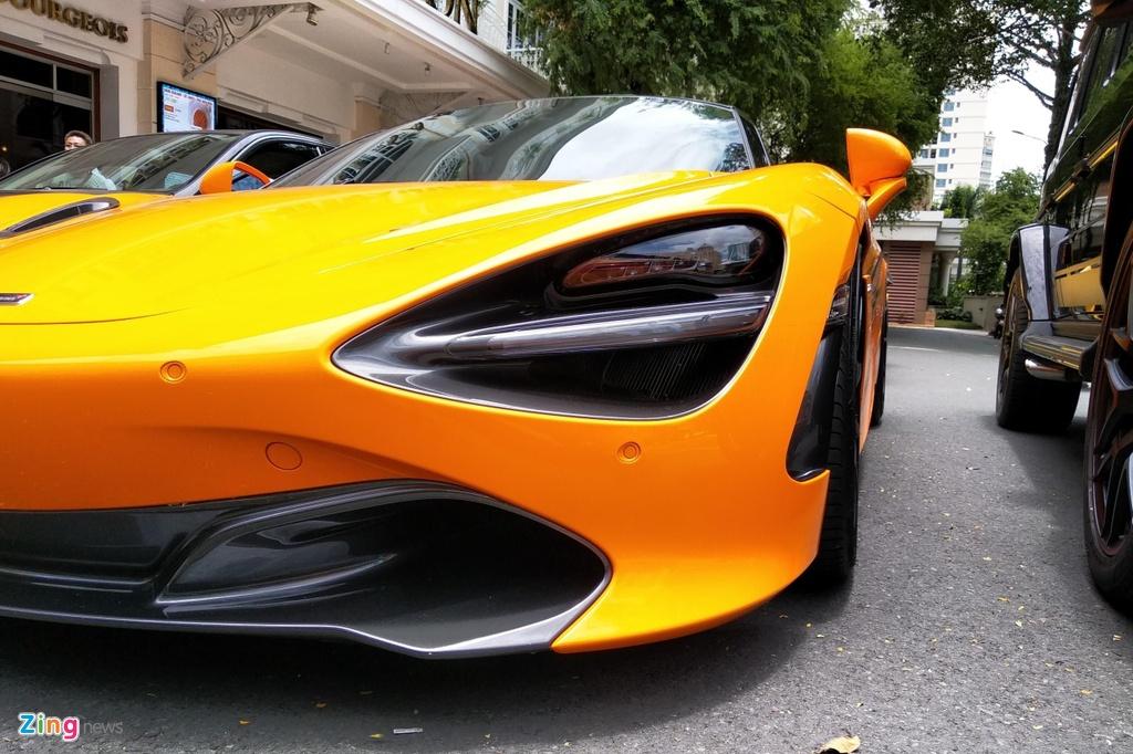 Sieu xe McLaren 720S cua Cuong Do La do mam hang hieu hon 10.000 USD hinh anh 6