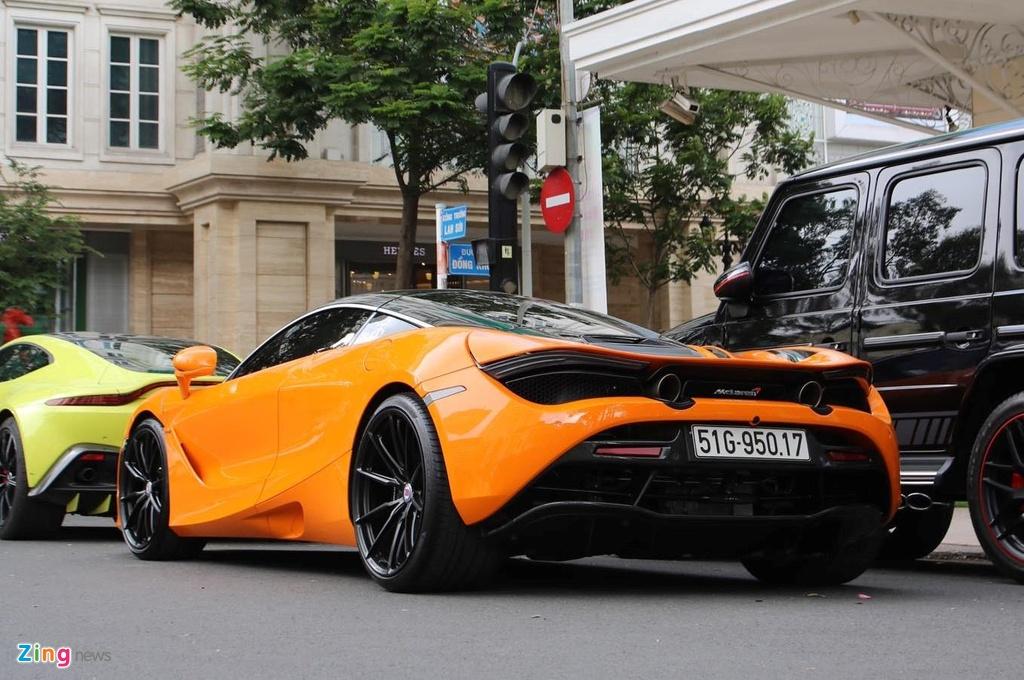 Sieu xe McLaren 720S cua Cuong Do La do mam hang hieu hon 10.000 USD hinh anh 5