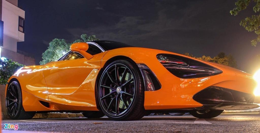 Sieu xe McLaren 720S cua Cuong Do La do mam hang hieu hon 10.000 USD hinh anh 2
