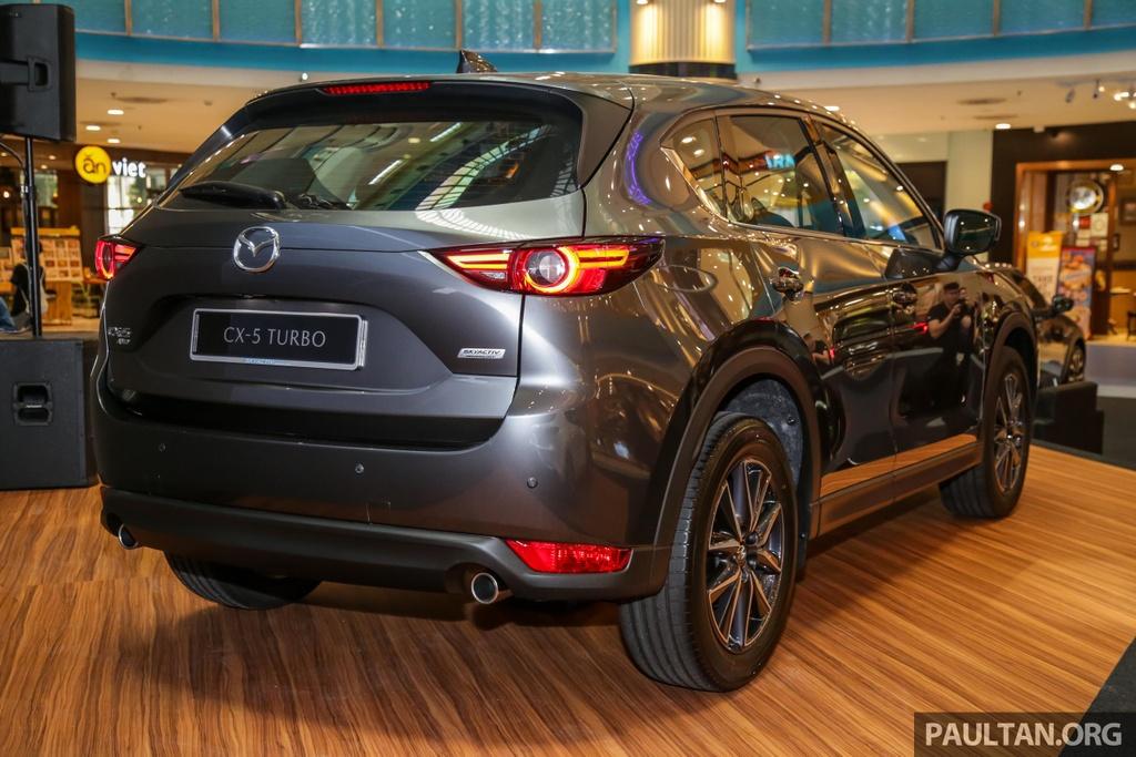Mazda CX-5 Turbo ra mat Malaysia anh 2