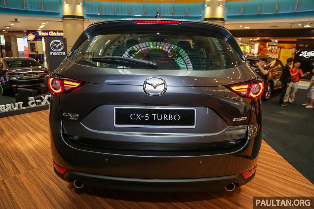 Mazda CX-5 Turbo ra mat Malaysia anh 5