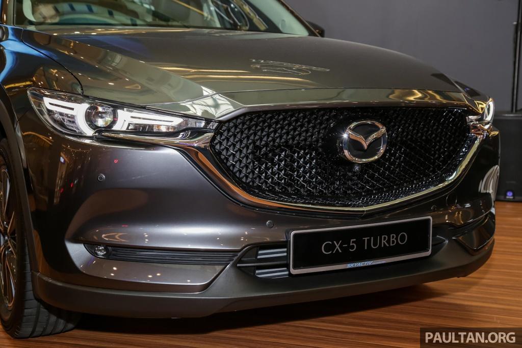 Mazda CX-5 Turbo ra mat Malaysia anh 9