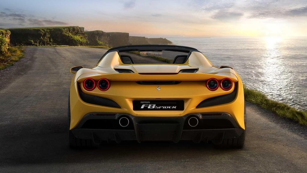Ferrari F8 Spider ra mat anh 3