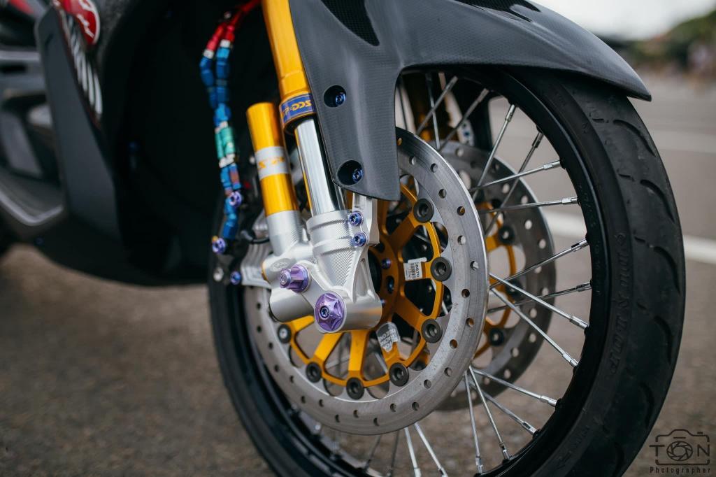 Biker Khanh Hoa chi 500 trieu do lai Yamaha Nouvo hinh anh 5