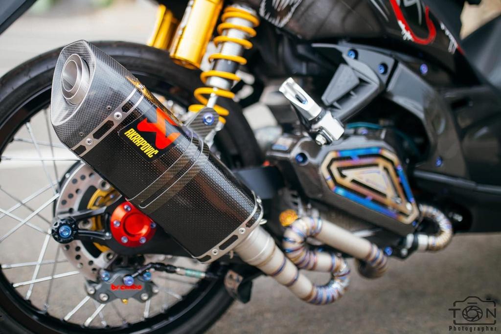 Biker Khanh Hoa chi 500 trieu do lai Yamaha Nouvo hinh anh 11