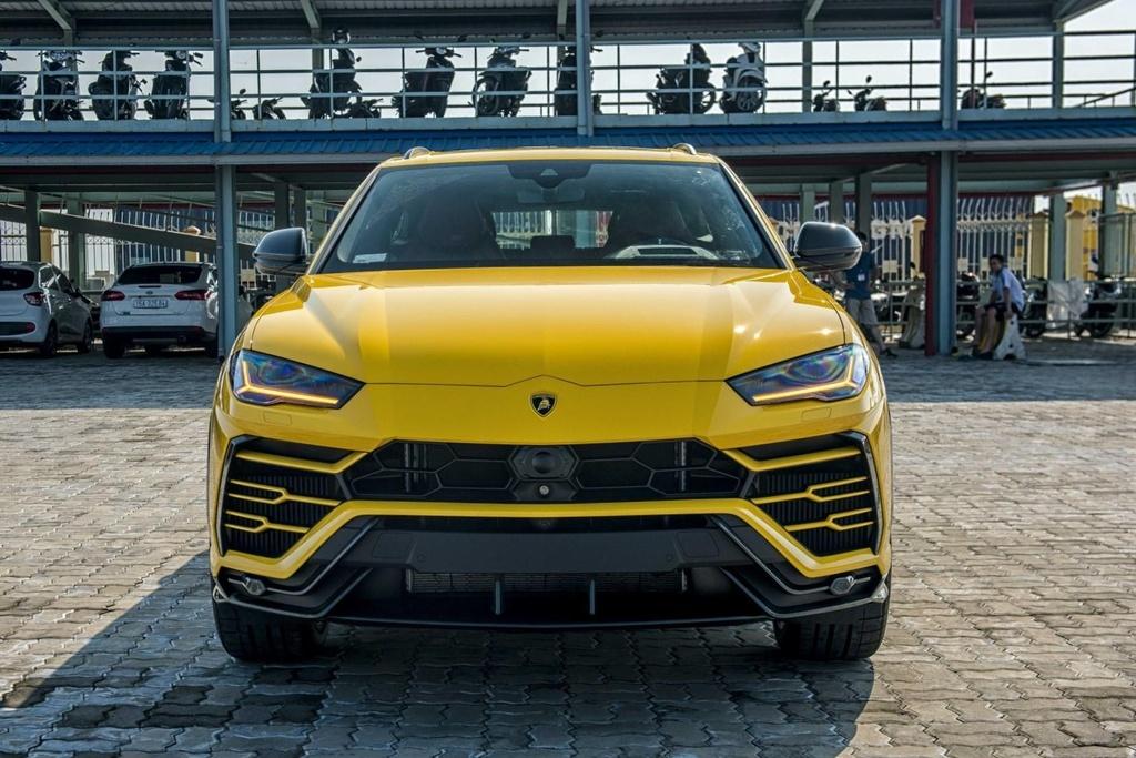 Sieu SUV Lamborghini Urus chinh hang anh 7