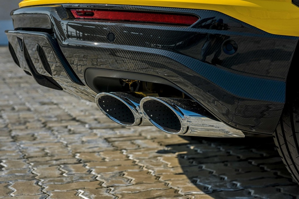 Sieu SUV Lamborghini Urus chinh hang anh 20
