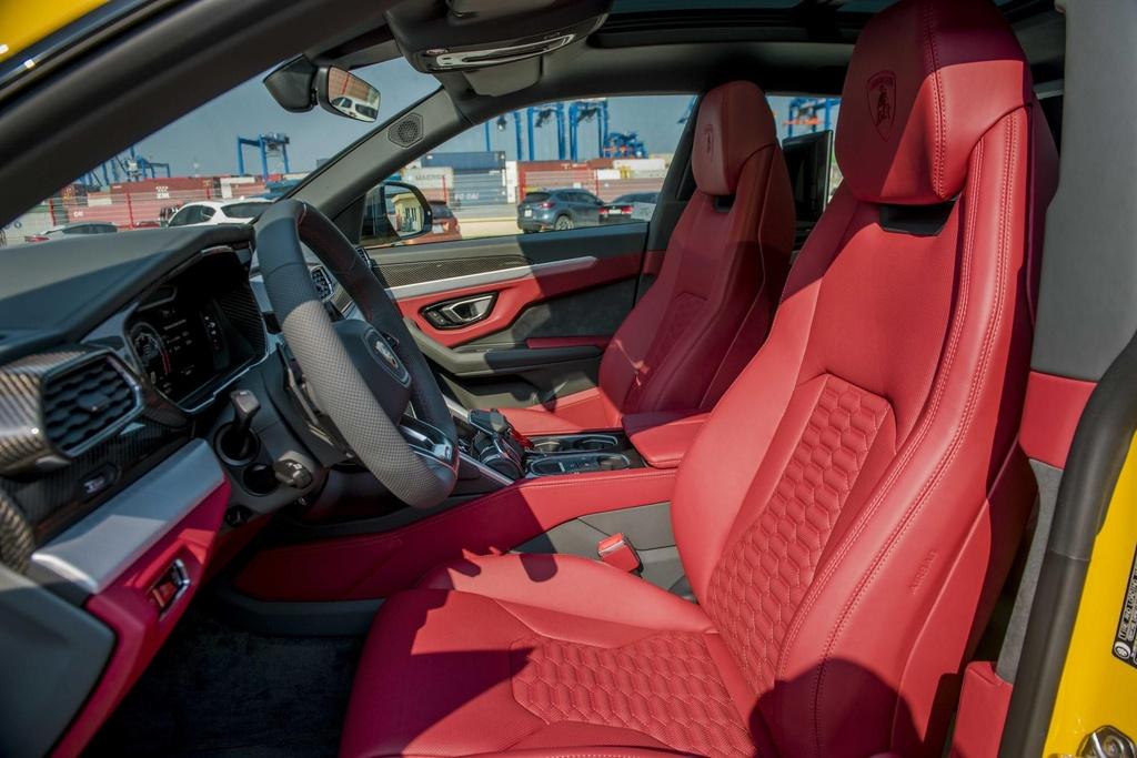 Sieu SUV Lamborghini Urus chinh hang anh 13
