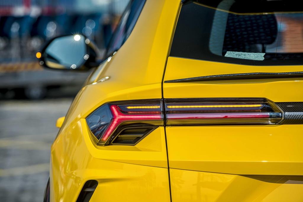 Sieu SUV Lamborghini Urus chinh hang anh 23